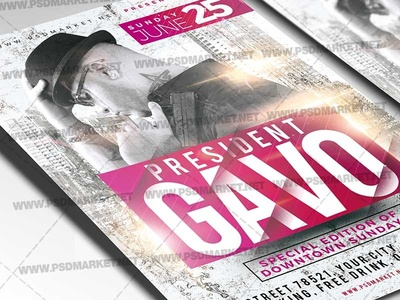 Special Guest Flyer - PSD Template