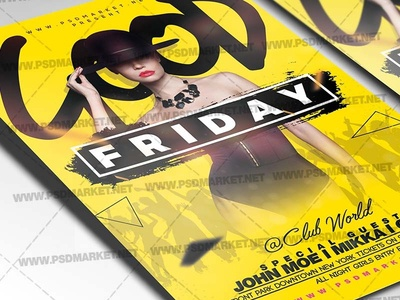Good Friday Flyer - PSD Template