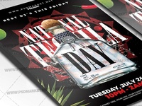 Tequila Day Flyer - PSD Template