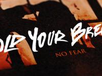 No fear artwork mock up