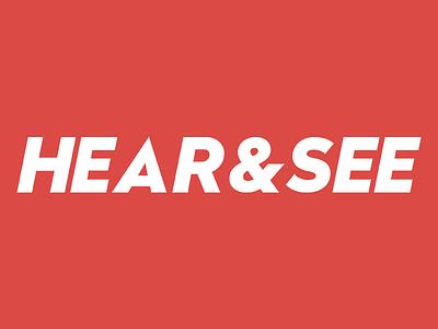 Hear&See Logo logo