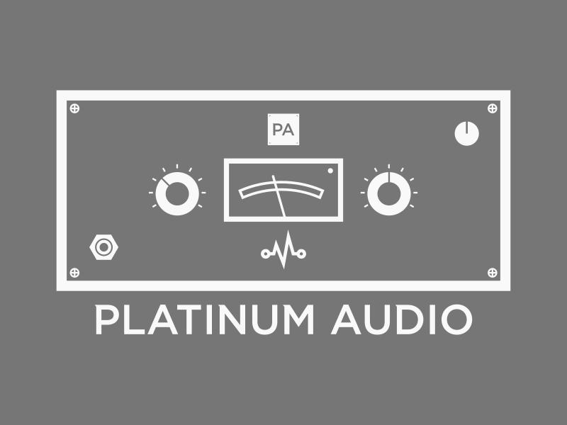 Platinum audio dribbble