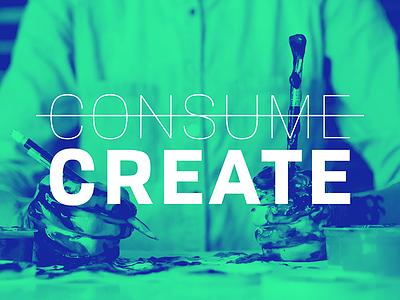 Create create consume unsplash
