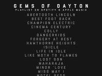 Gems of dayton list 2 2 2018