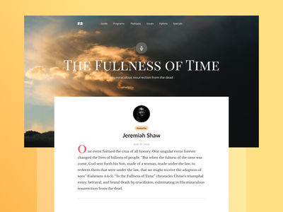 FR Article page clean simple white minimalistic minimalist minimal text photography adobe xd adobe description typography design flat ux ui