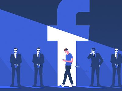 Zuckerberg Security digitalart artwork protection data digital illustration pop art illustrator illustration editorial money business ciber security security