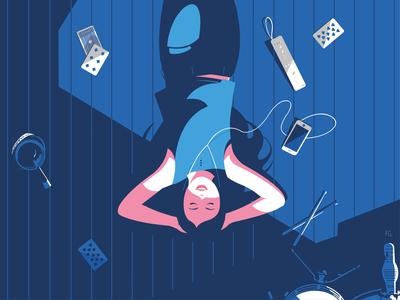 Stay Home ! room digital illustration digitalart pop art illustrator illustration stay safe stay home stayhome home