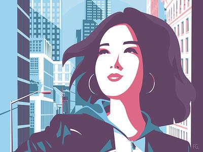 MILA 🗽 digitalart design new york digital illustration artwork pop art illustrator illustration 2020 book cover book romans hachette