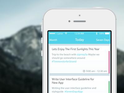 Bright UI Design iOS