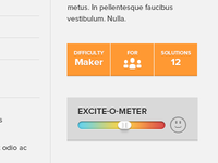 Excite-o-meter