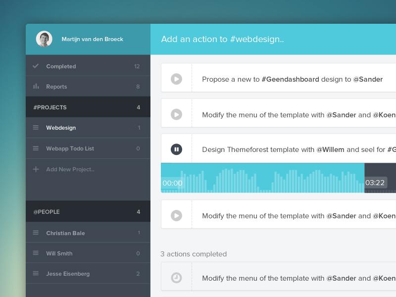 Todo Dashboard todo dashboard webdesign app webapp