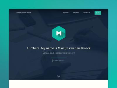 Portfolio Launch portfolio redesign flat webdesign ui visual design interaction design umeå