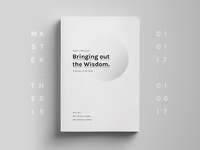 Bringing out the Wisdom - Master's Thesis wisdom interaction book graphic design thesis