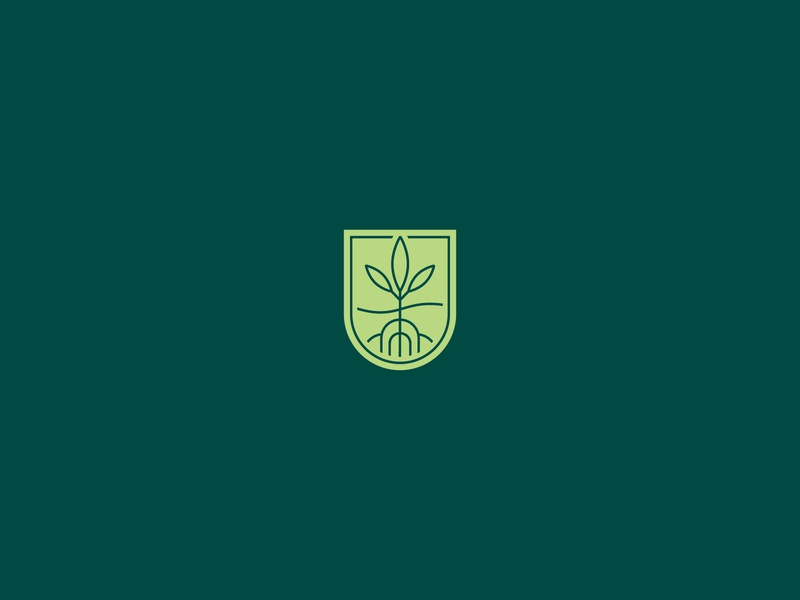 UPG Branding logoanimated animation nature earth sustainability nonprofit plants growth logotype mark icon branding brand logo
