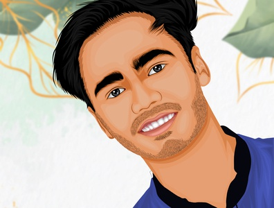 Vector Cartoon portrait illustrator illustration art illustraion portraits portrait illustration portrait art illustration drawing digital illustration digital art avatar design avatardesign avatar