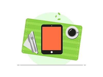 SERVIO - animated illustrations icon graphic design flat illustrator vector animation web ui illustration design