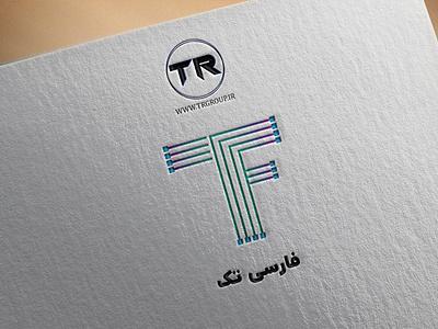 farsi tech logo company logo company brand logo logo design logotype logodesign logos typography illustration icon ux vector branding logo graphic design ui graphic design