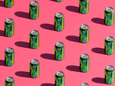 Beer label design jungle dragon animal summer tropic packaging labeldesign label illustration design