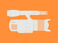 Camcorder illustration