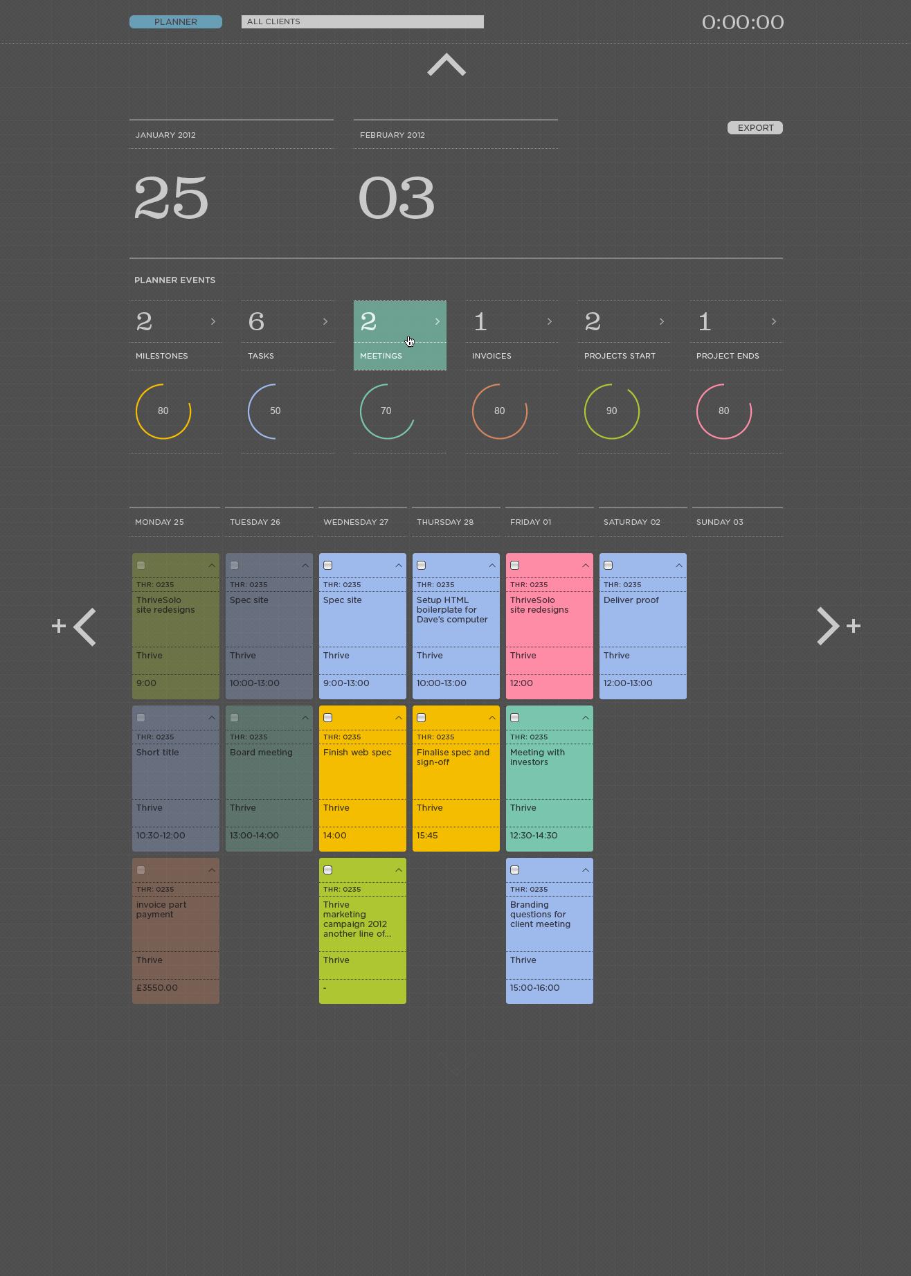 Solo version 2.0 18   colour options planner