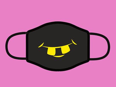 Design For Good Face Mask Challenge illustration minimalist vector facemask designchallenge logo adobe illustrator