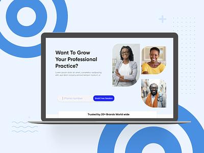 UI Kit For Digital Company design adobexd typography app illustration branding ui  ux uidesign minimalist website