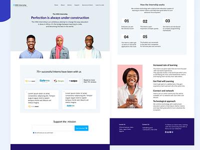 HNG.TECH  Redesign adobe xd app illustration ui  ux figmadesign figmaafrica minimalist design adobe illustrator website