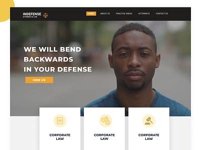 Law Firm Website Design layout minimalist figma uidesign ui branding ui  ux landing page website lawfirm