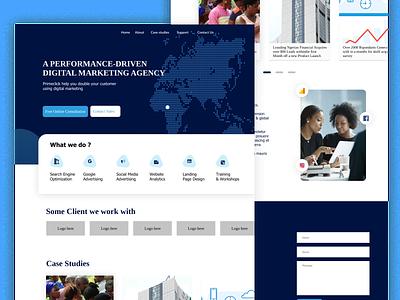 Homepage Design figmadesign figmakit figma website adobexd design branding uidesign minimalist