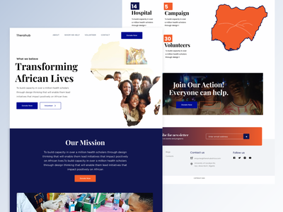 NGO Homepage exploration ux figma homepage ui  ux illustration uidesign branding minimalist website