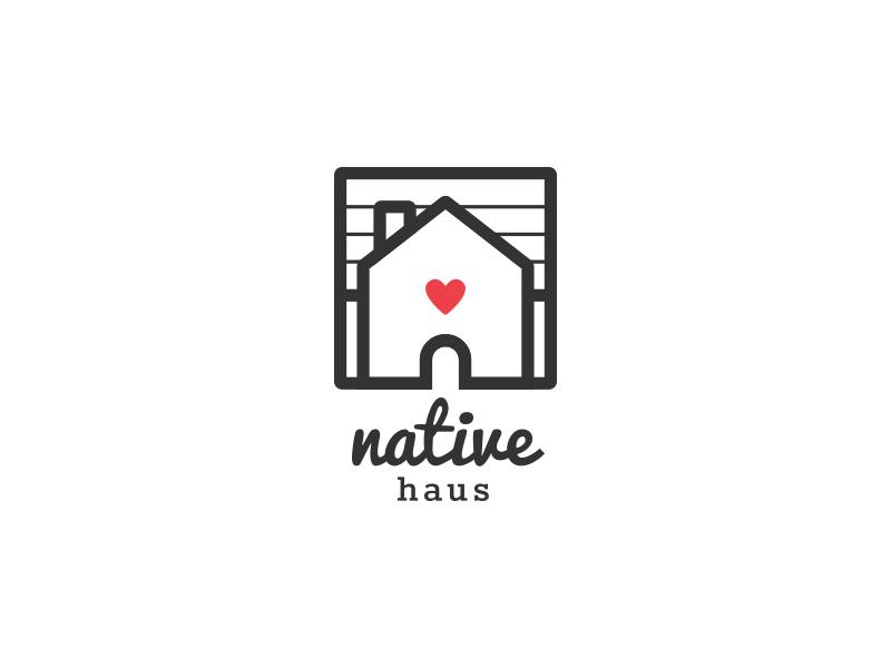 Native Haus Logo By Michael Lee Dribbble Dribbble