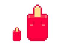 Pixel art popsicle