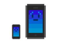 Pixel art iPhone