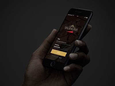 Valrhona Mobile App - Preview