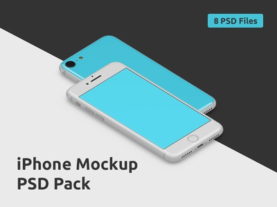 iPhone Mockup PSD Pack