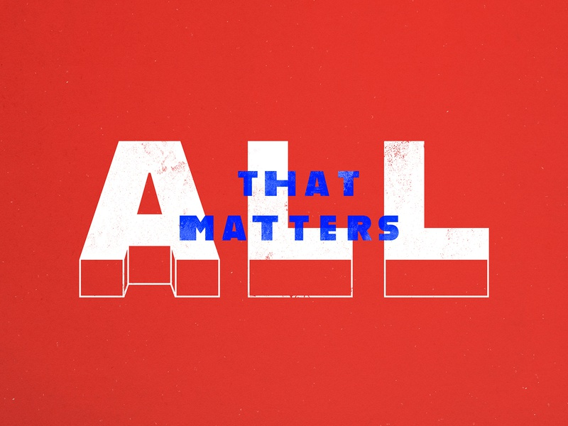 All That Matters design series art