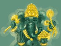 Ganesha luck east elephant god ganesha indian india