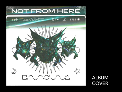 NOT FROM HERE - ALBUM COVER
