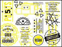 Taco Identity & Menu Elements