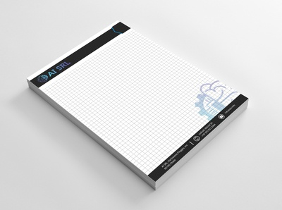 Block Note design
