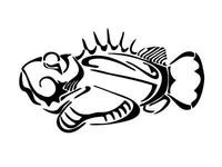 Stonefish Tattoo Design