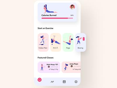 Workout App Progress Bar exercise exercise app workout mobile app design mobile design mobile app mobile ui mobile daily 100 challenge dailyuichallenge daily ui dailyui daily ui ux  ui uxui ux uidesign design conoverdesigns