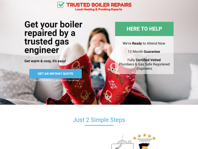 Landing Page for Trusted Boiler Repairs