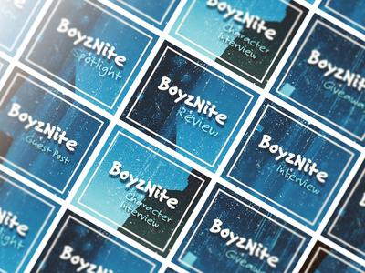 BoyzNite | Rectangle Banners