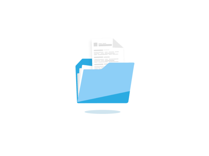 Folder Icon For Cvdesignr Pro By Opaline On Dribbble