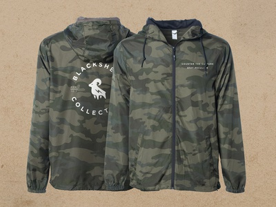 Blacksheep Branded Windbreaker