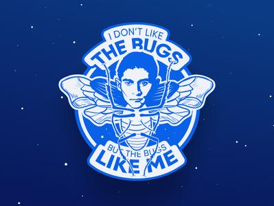Sticker: The Bugs Like Me
