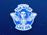 Sticker: The Bugs Like Me