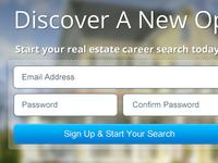 Real Estate Signup