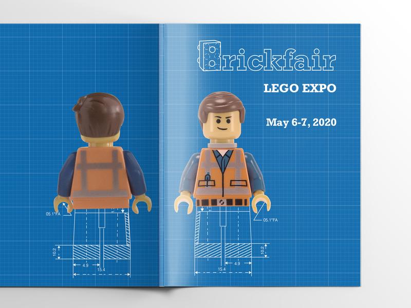 The BrickFair LEGO Expo Rebranding Guidebook Design logotype logos guidebook editorial design book design graphic design branding identity identity logo design branding design